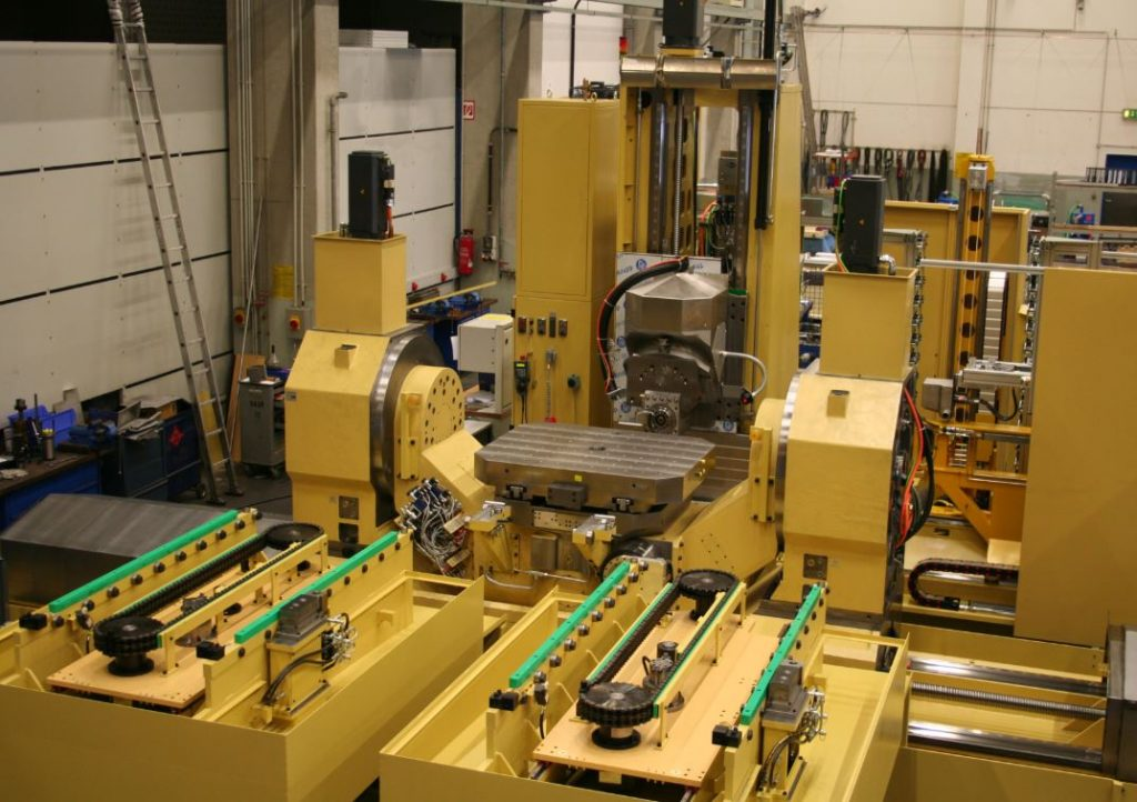 Pallet Loaders, Automatic Pallet Changers, Rotary Tilt Table