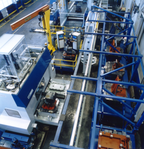 Pallet Storage Systems, Pallet Transfer Systems, FMS Systems, Factory Automation