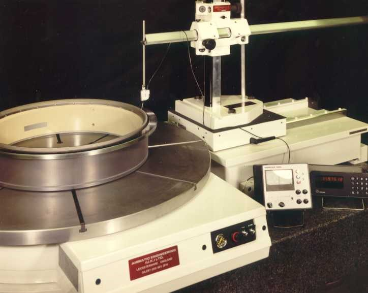Inspection Rotary Tables, Air Bearing Rotary Tables