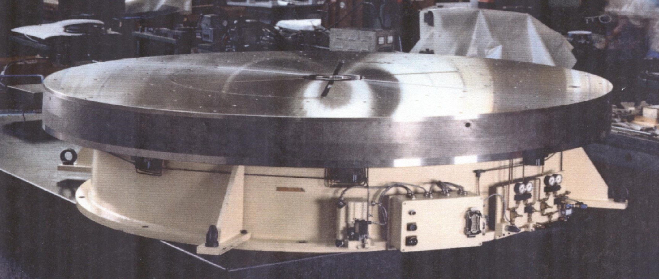 Air Bearing Rotary Tables For Inspection Assembly